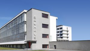 Bauhaus dessau main building in Germany