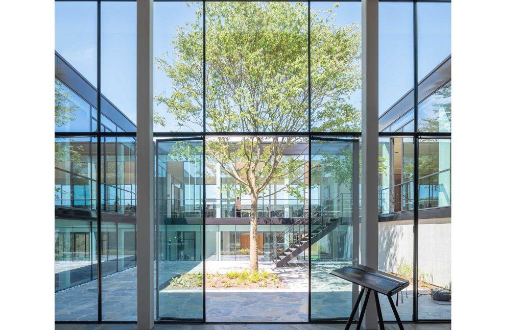 MHB steel windows BIG GREEN EGG office building