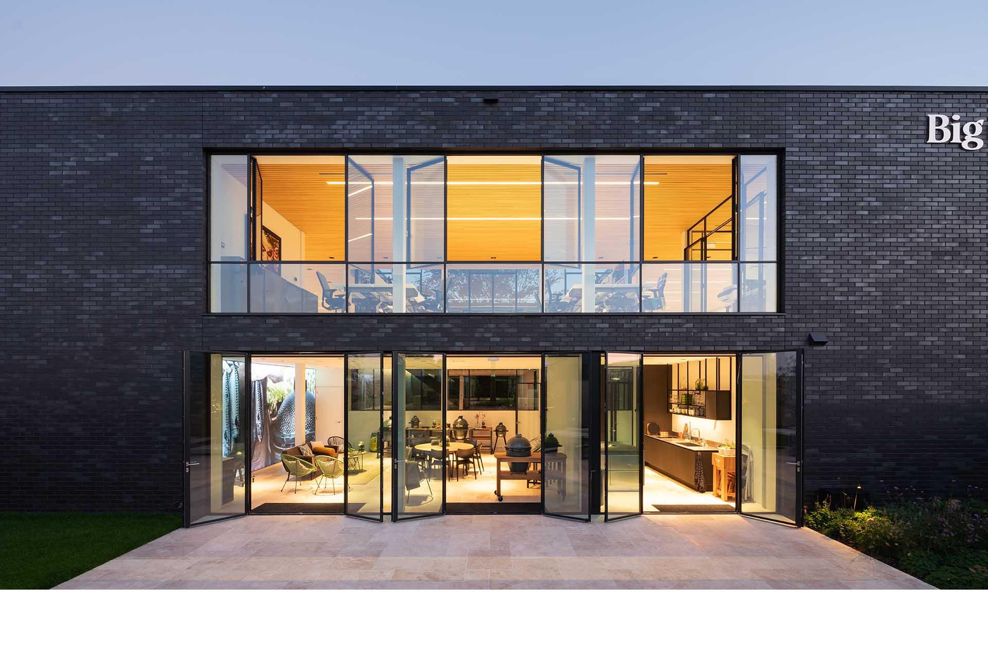 MHB SL30-ISO 2018 NL De Lier Big Green Egg steel doors