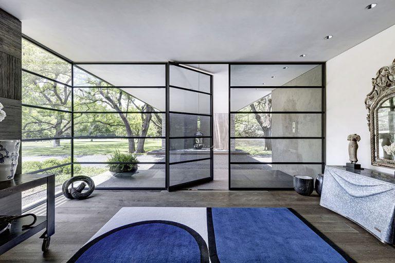 MHB Steel pivot doors and windows