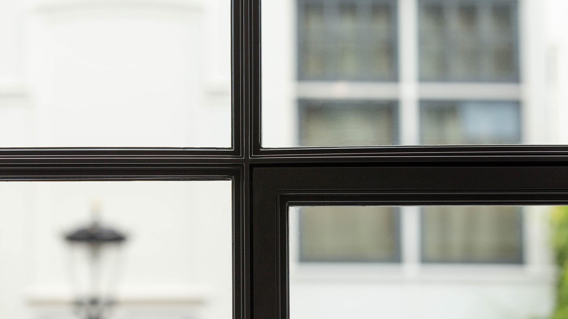 Steel glazed frames